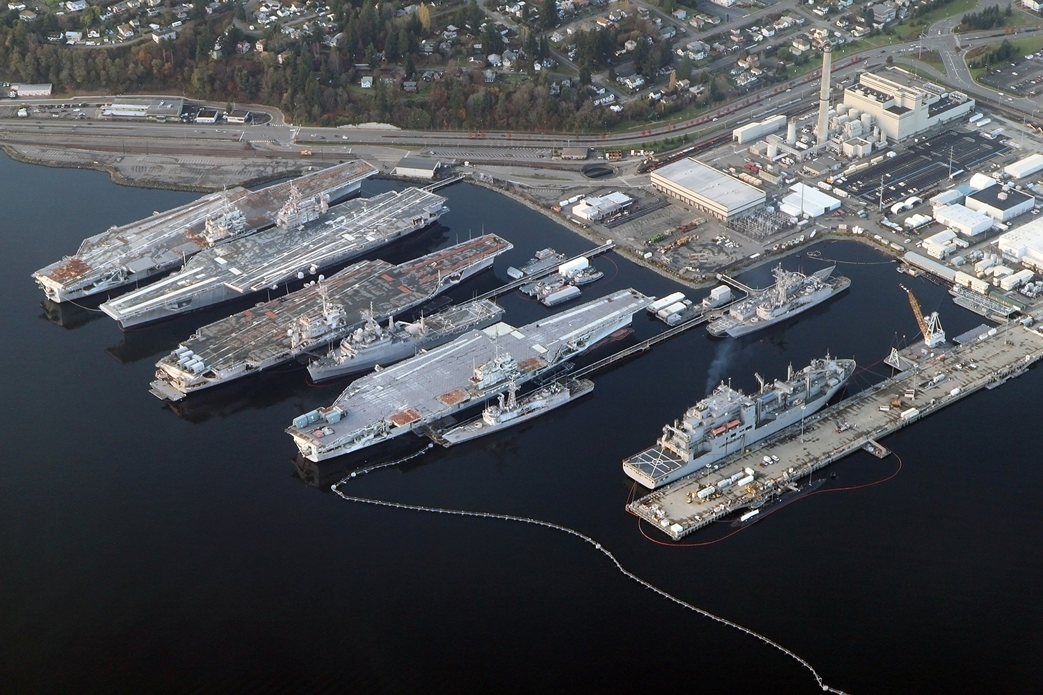 Puget Sound Naval Shipyard - use water line freeze protection