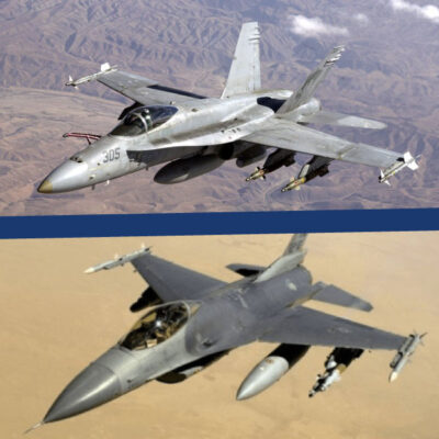 How F-16 & F-18 Military Aircraft Keep Cool with Avionics Cooling