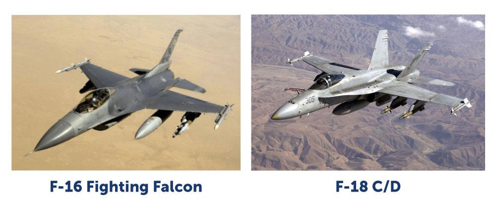 F-16 and F-18 C/D Aircraft Avionics Cooling